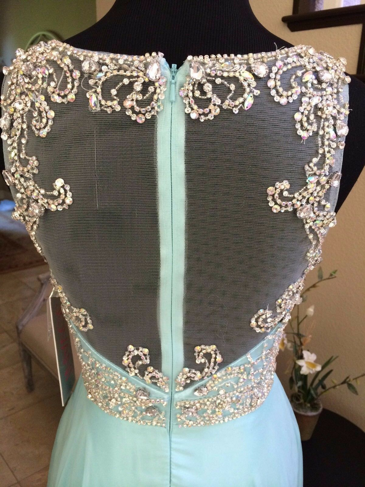 398 NWT MINT JVN BY JOVANI PROM PAGEANT PAGEANT PAGEANT FORMAL DRESS GOWN SIZE 2 7e5354