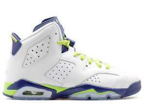 3b63761e6f857a AIR JORDAN VI 6 RETRO GG NEW SIZE 4Y SEAHAWKS FIERCE GREEN DEEP ...