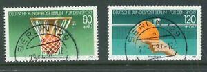 Berlin-Mi-Nr-732-733-zentrisch-Vollstempel-Berlin-129-TST