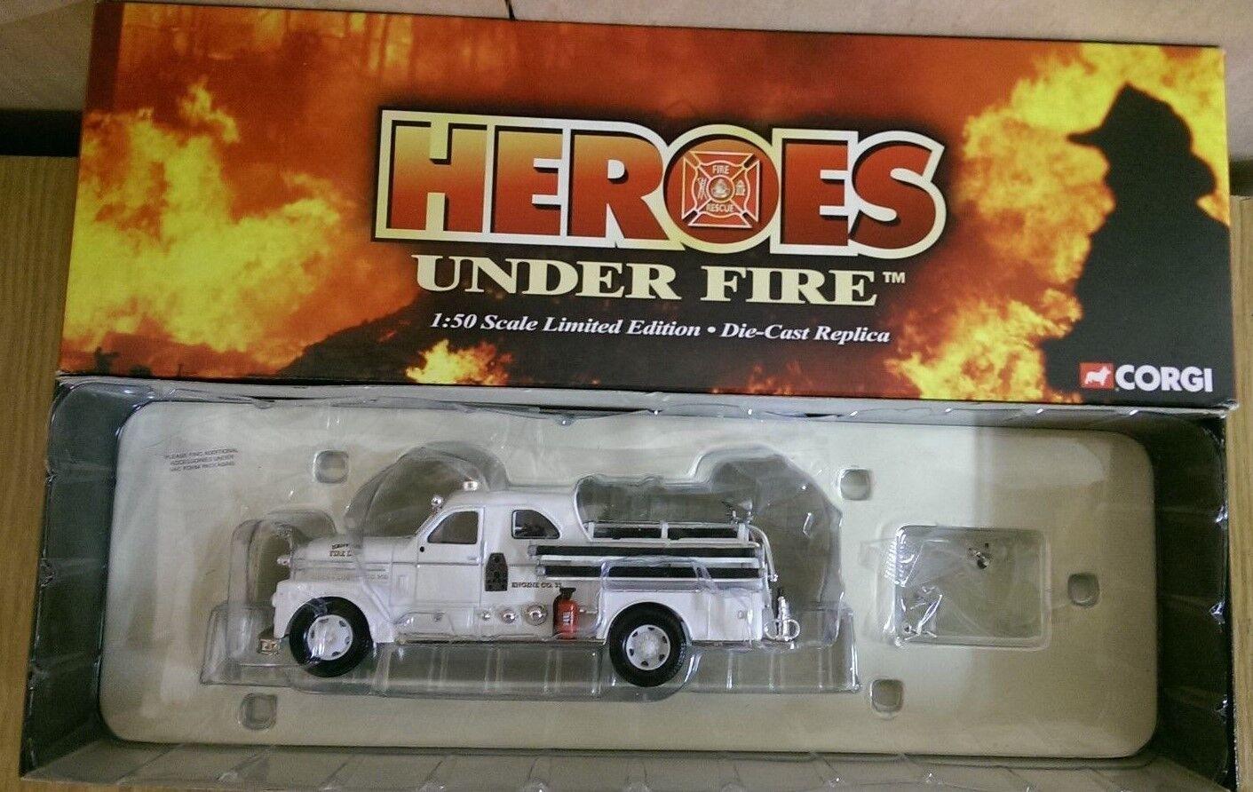 Corgi US52512 héroes bajo fuego Seagrave 70th Semi Abierto Cab Ltd Ed No.1 de 1700