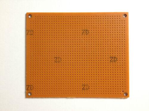 Cuadrícula agujero placa 110x94 mmrayas rejillaRM 2,54unilateralmenteduro papel