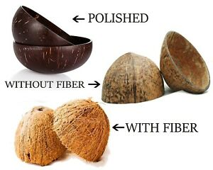 Natural Coconut Bowl 100 Halves Coconut Shell for handicraft or pet feeder