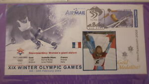 2002-WINTER-OLYMPIC-GAMES-GOLD-MEDAL-WIN-COVER-ISABELLE-BLANC-GIANT-SLALOM