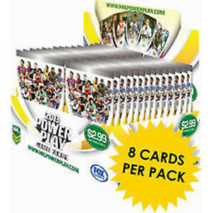 NRL-2013-RUGBY-LEAGUE-Power-Play-Trading-Cards-Sealed-Box-24ct-NEW