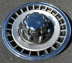 NEW-1984-1997-FORD-TRUCK-F250-F350-Van-E250-E350-16-034-Wheelcover-Hubcap