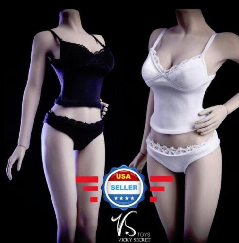 "1//6 Camisole Panties Underwear Set For 12/"" Female Figure Doll PHICEN JIAOU DOLL"