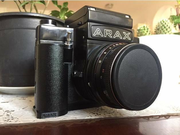 [FREE SHIPPING] - grip for the ARAX 60 / Kiev 60 camera.