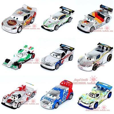 Mattel Disney Pixar Cars Neon Racers No.4 - No.123 Toy Car 1:55 Loose New
