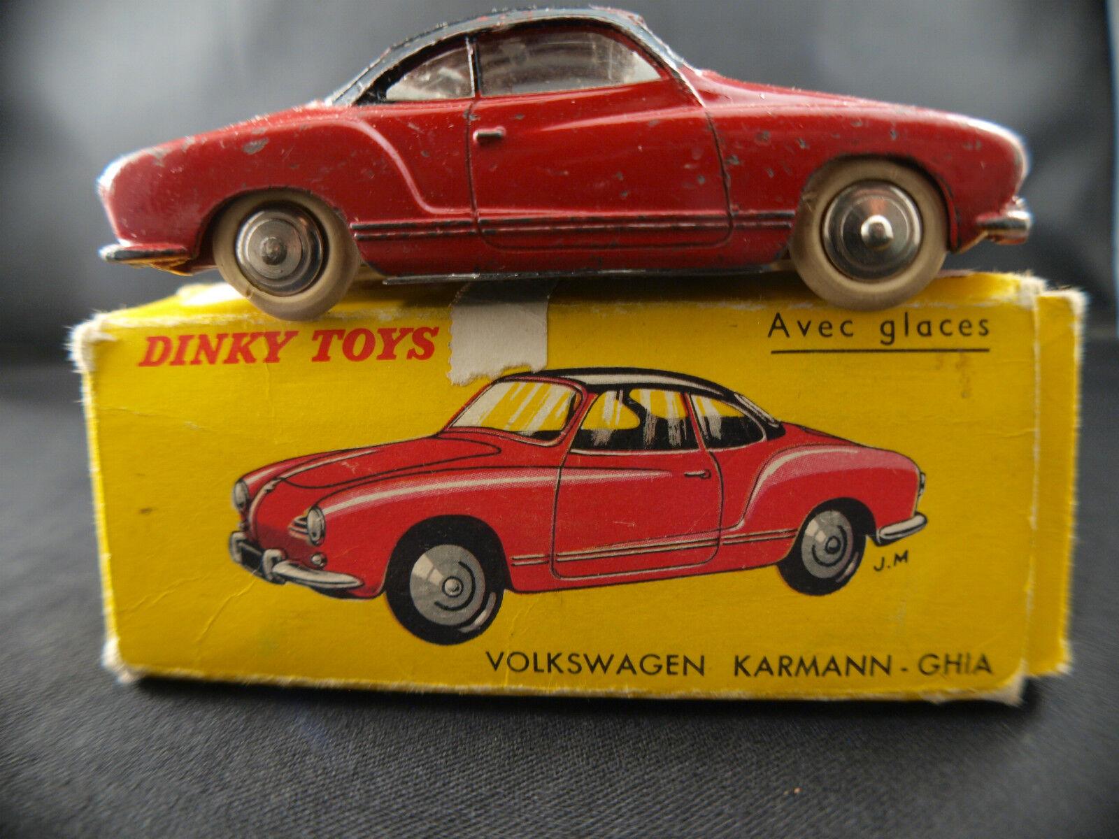 Dinky Toys F n° 24M Volkswagen Karmann Ghia VW en boîte