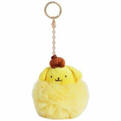 PomPomPurin Pom Pom Charm Keychain Sanrio Japan