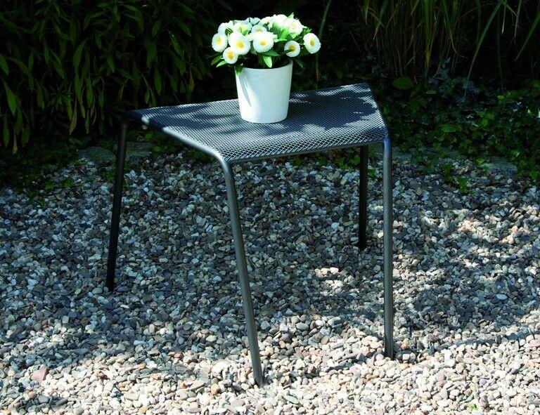 830238-siena Garden anstecktisch saseo-streckmetall-jardín mesa-gris