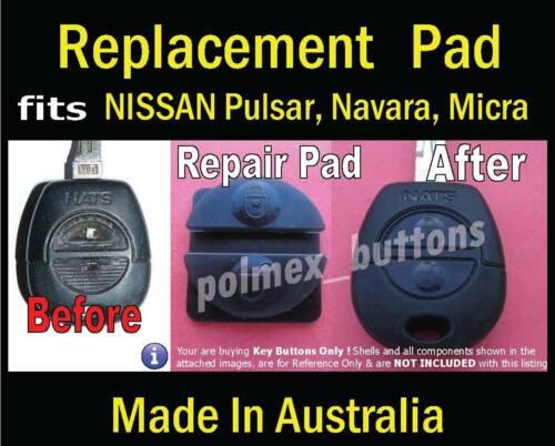 X-Trail Replacement key Button Pad fits Nissan Almera Patrol remote Primera