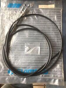 *NOS Vintage SHIMANO SLR brake cables set in black*