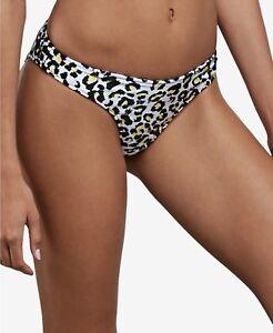a144c5e88b NWT VOLCOM Swimsuit Bikini Bottom Size L High Leg Reversible Seeing ...