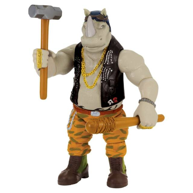 Teenage Mutant Ninja Turtles Out Of The Shadows Rocksteady Action Figure 11 Inch For Sale Online Ebay