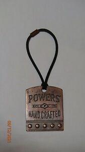 Powers Irish Whiskey bottle neck tag