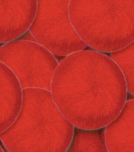 Pom Poms 3mm 0.12 in 200 //Pkg-Red