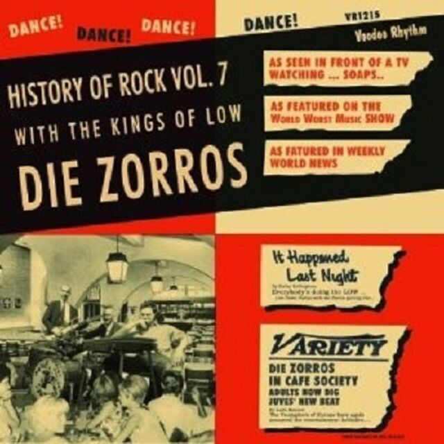 Zorros,Die - History Of Rock Vol.7 Vinyl LP  Neuware