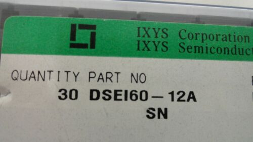 IXYS DSEI60-12A  Diode TO-3P Fast Recovery Epitaxial 2A3.71.JK Lot of 5