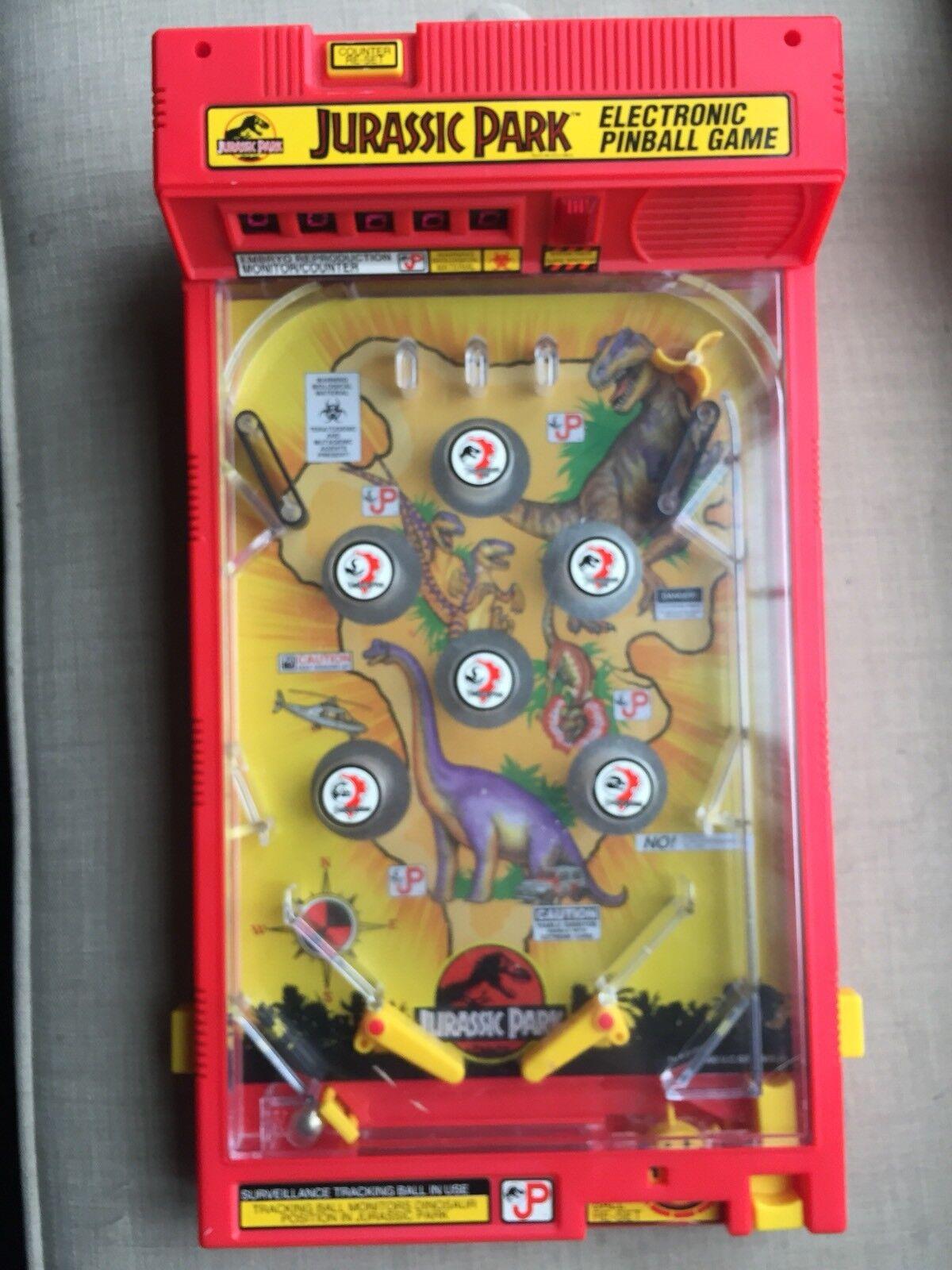 Jurassic Park Pinball Game Tabletop 1993
