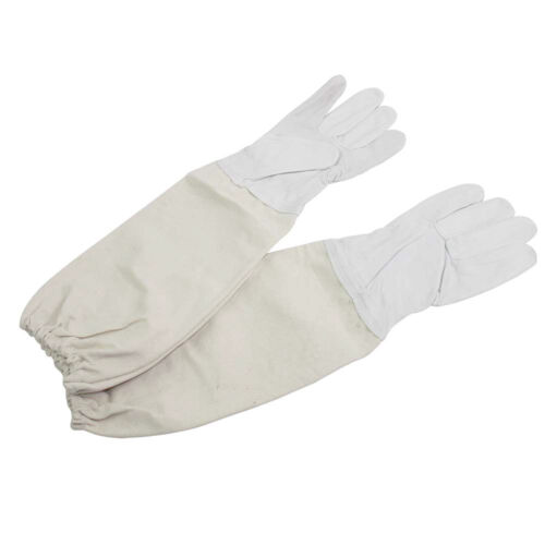 GL-GLV-XL Goodland Bee Supply Sheep Skin Glove with Canvas Sleeve Extra Large