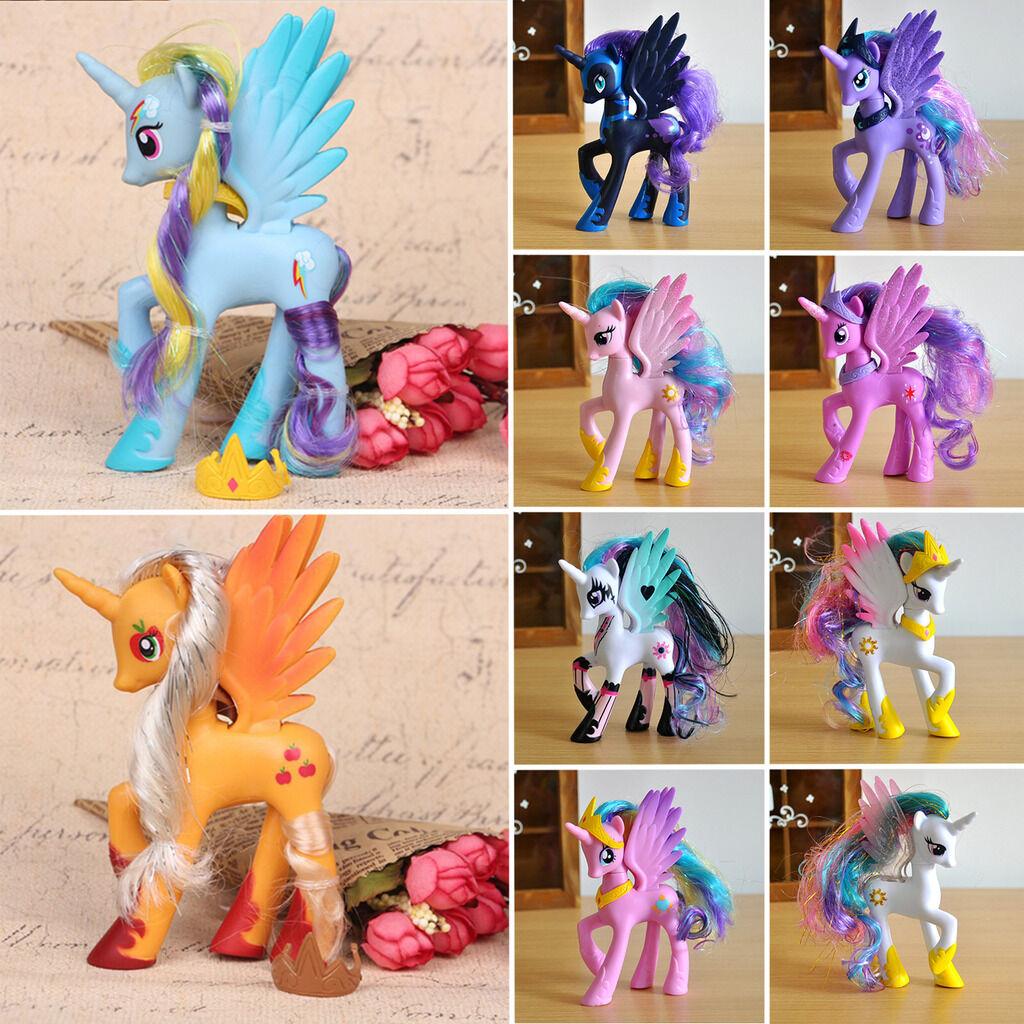 My Little Pony Puppe Prinzessin Sammlung Action-Figuren Spielzeug Geschenk Figur
