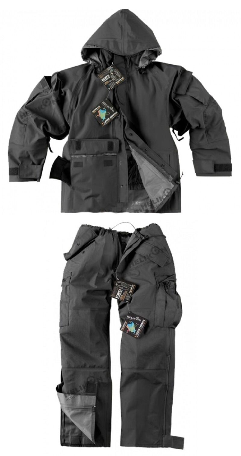 Helikon Tex Buitenshuis Ecwcs Cold Wet Weather Broek zwart Groot