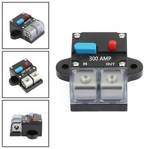 Details about 300A Car Audio Marine Circuit Breaker Protection Reset on house circuit breaker for fuse box, marine wiring fuse box, circuit breaker vs fuse box,