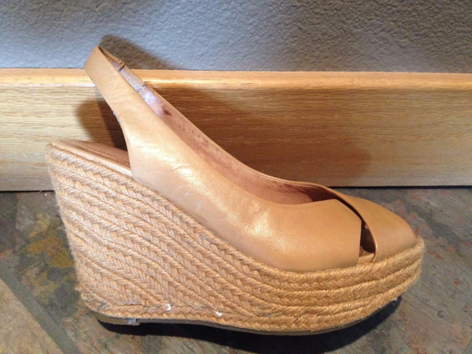 Nordstrom scarpe - Corso Como Wedge Espadrille Sandals, Dimensione 8, Great Condition