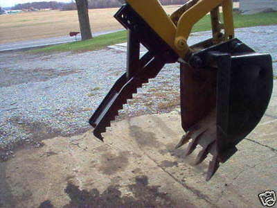 36 inch SLIM Linville backhoe thumb AMERICAN MADE USA