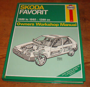 skoda favorit 1989 1992 haynes owners workshop manual ebay rh ebay co uk skoda favorit service and repair manual pdf skoda favorit forman service manual.pdf
