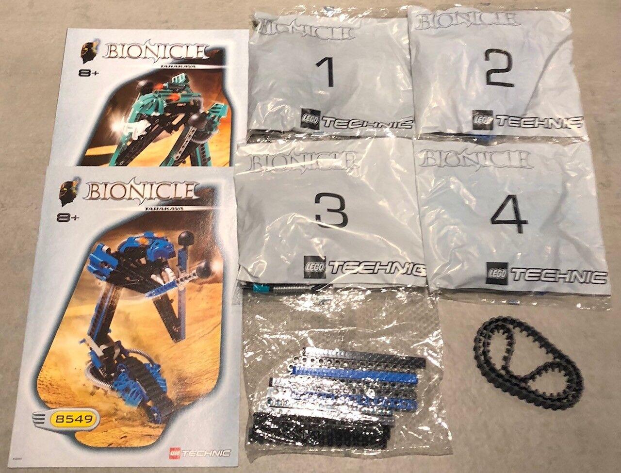 Lego Bionicle Tarakava 8549 Nuevo y Sellado desde 2001.