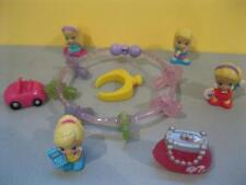Squinkies Birthday Surpriz Bracelet/Ring Jewelry & Car, Purse, Barbie Doll lot
