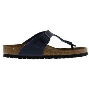 Mode und trendige Turnschuhe Birkenstock Gizeh Blue Womens Sandals Im Verkauf
