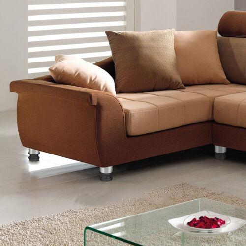 4X réglable acier inoxydable canapé-lit jambe armoire pieds protecteur YCS
