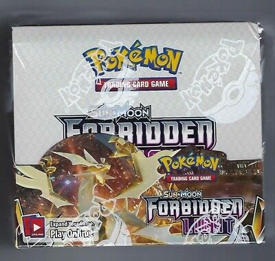 8 Pokemon-GX Cards Over 130 Cards 15 Trainer Cards 165-81421 5 Prism Star Cards 6 Ultra Beasts Collectible Trading Card Set Pokemon TCG: Sun /& Moon Forbidden Light Booster Sealed Box 36 Booster Packs