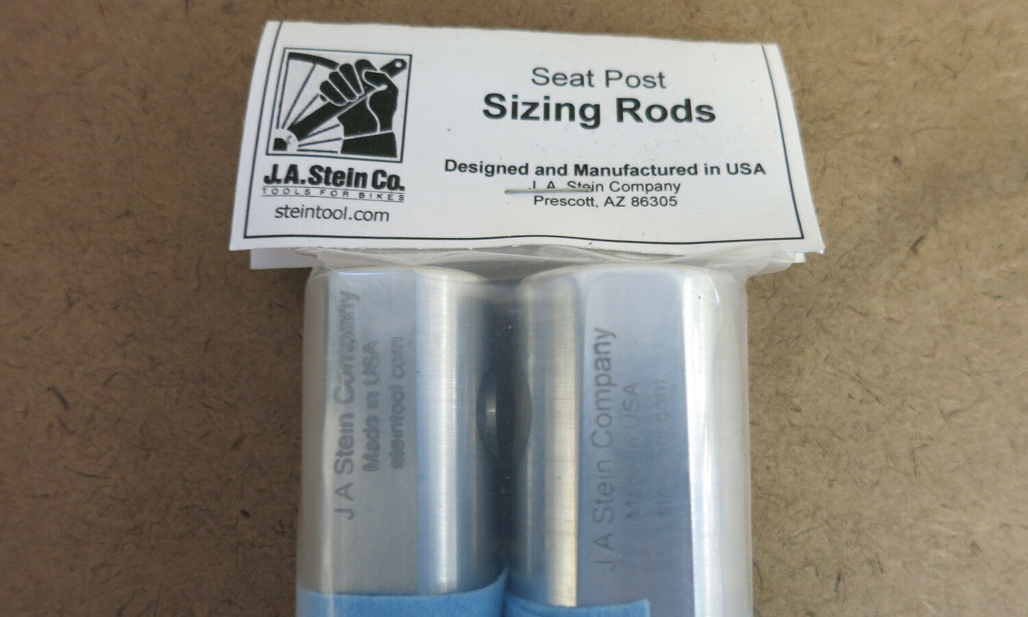 J Stein Seatpost Sizing Rods Made in USA A