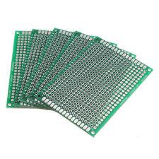 5pcs Double Side 5 X 7cm Printed Circuit PCB Vero Prototyping Track Strip Board