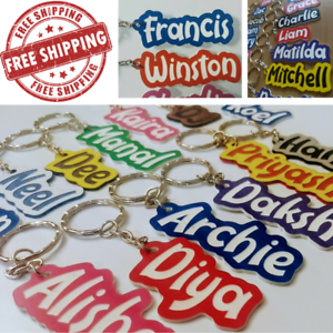 School-Bag-Name-Tag-Key-Ring-PERSONALISED-ANY-SPELLING-MADE-TO-ORDER