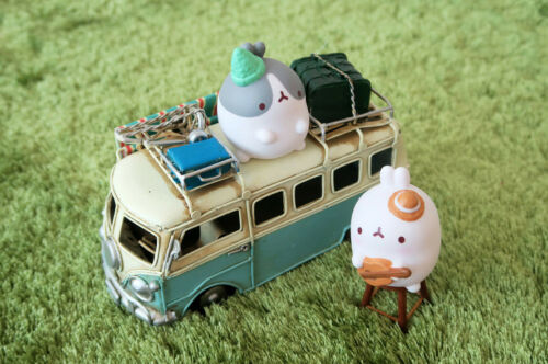 """Molang 2/"""" Mini Figure Ver.2 1 Sealed Random Pack Collectible Toy Cute Rabbit"""