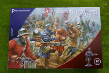 Perry Miniatures Agincourt French Infantry 1415-1429 28mm Plastic set