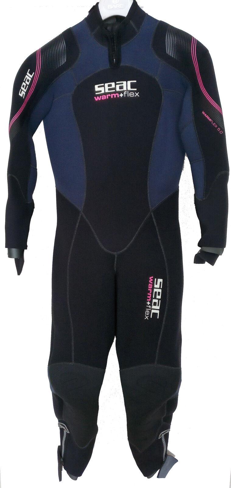 Speciale aanbieding --Seac Warm Flex Lady 5 mm Ladies Semi Drory Suit --Grootte XL