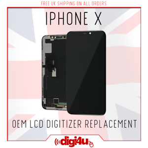 sports shoes 39a7f b853d Details about For Apple iPhone X AMOLED LCD Display 3D Touch Screen  Digitizer Replacement OEM