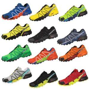 NEW men's Salomon Speedcross 4 Outdoor Running Sports Trainers Shoes 13 colors