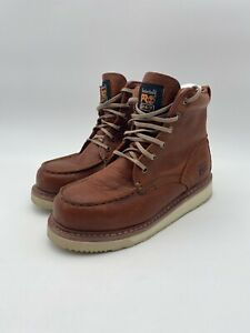 Timberland-PRO-Men-039-s-053009-Wedge-Sole-6-034-Soft-Toe-Boot-Size-7M