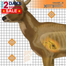 Champion Traps and Targets Deer Target 25x25 (6 Pack)