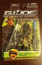 Hasbro G.I. Joe Rise Of Cobra ROC Wallace Ripcord Weems Jungle Assault UNOPENED
