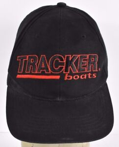 Image is loading Black-Tracker-Boats-Company-Logo-Embroidered-baseball-hat- f4be057567f
