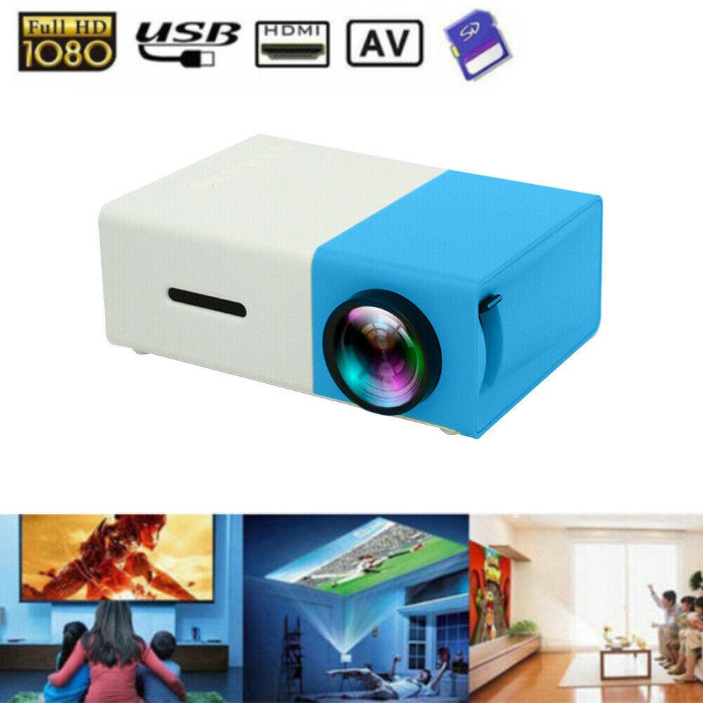 Image 01 - YG300-1080P-Home-Cinema-Theater-USB-HDMI-AV-SD-Mini-Portable-HD-LED-Projector