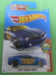 Hot-Wheels-Diecast-Chevy-Camaro-Concept-Sport-Car-NEW